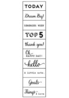 STARSHINE - PHRASE STAMP WITH NOTEPAD (2 PIECE)