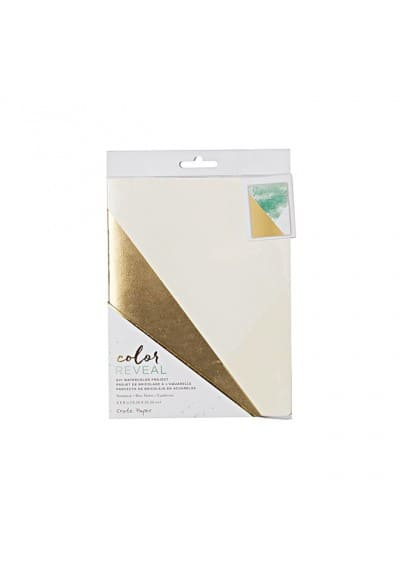 WATERCOLOR NOTEBOOK - CP - COLOR REVEAL - COLOR BLOCK