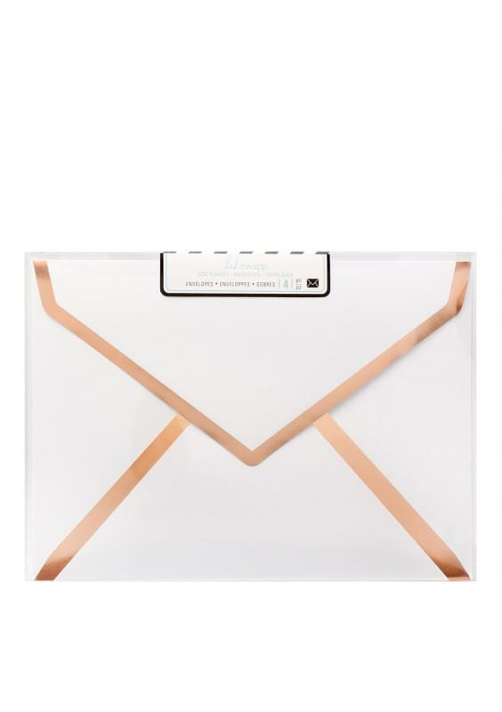 Envelopes - HS - Stationery - A7 - White Foil