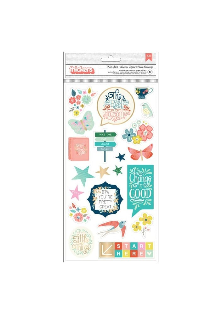 TURN THE PAGE - ICON - CHIPBOARD - (47 PIECE)