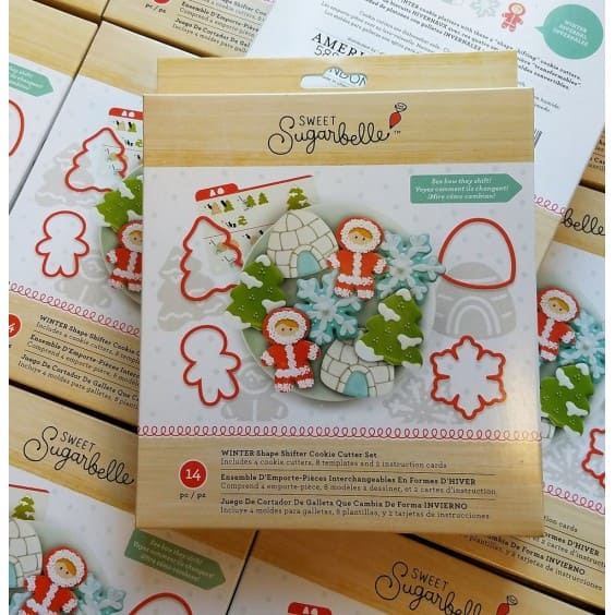 Sugarbelle Winter 4 pc Cookie Cutter Set