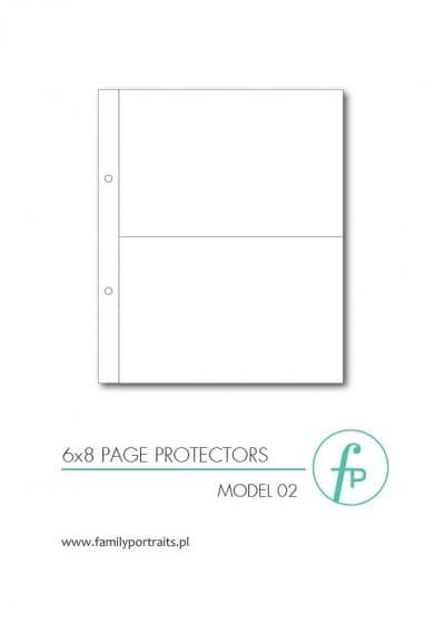 ZESTAW 10 KOSZULEK OCHRONNYCH 6x8 / MODEL 02