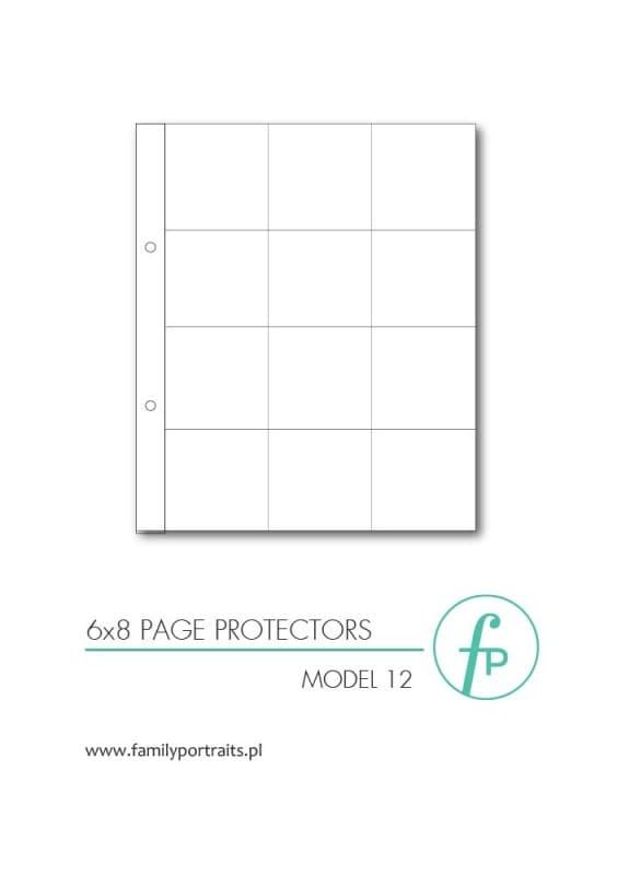 ZESTAW 10 KOSZULEK OCHRONNYCH 6x8 / MODEL 07