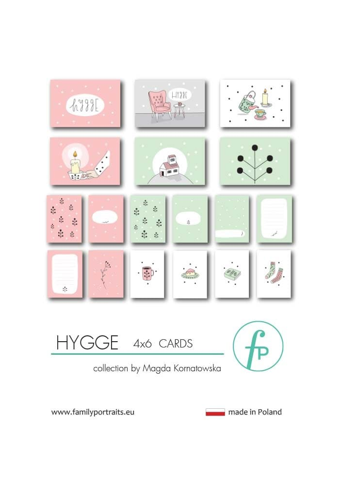 HYGGE / 4X6 CARDS