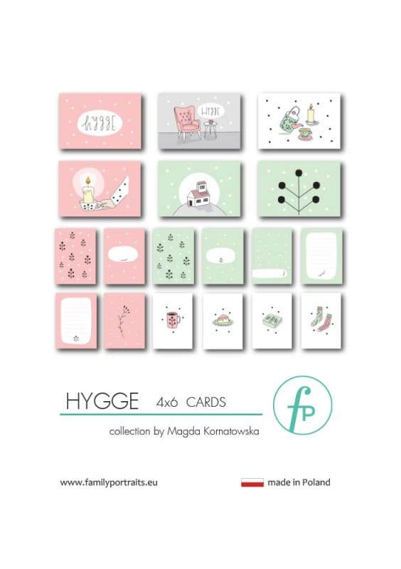 4X6 CARDS / HYGGE