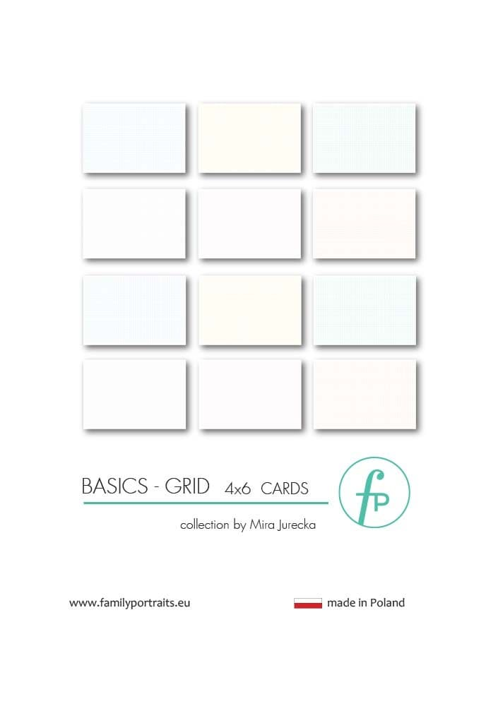 BASICS - GRID / 4X6 CARDS
