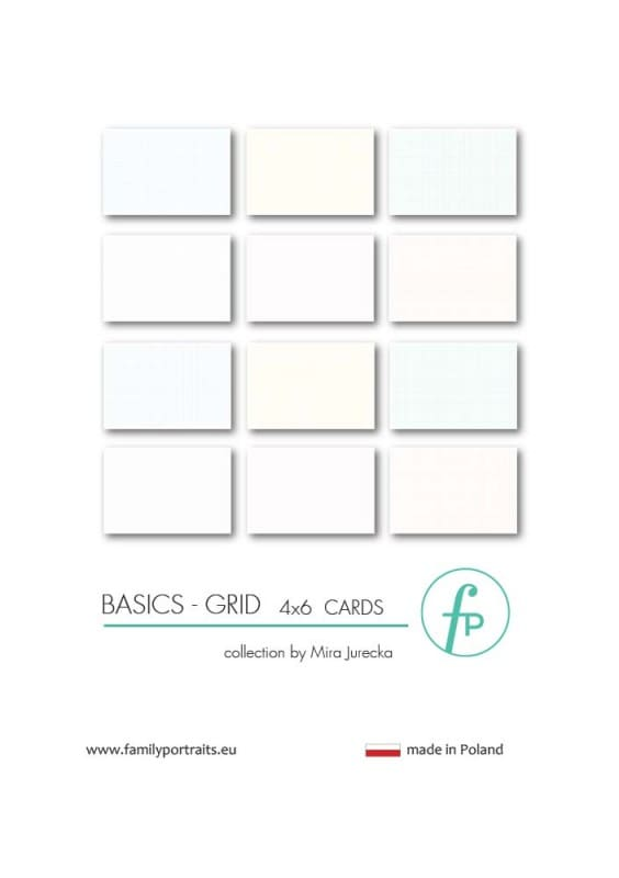 4X6 CARDS / BASICS - GRID