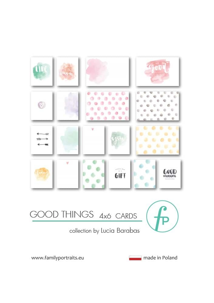 GOOD THINGS / 4X6 CARDS