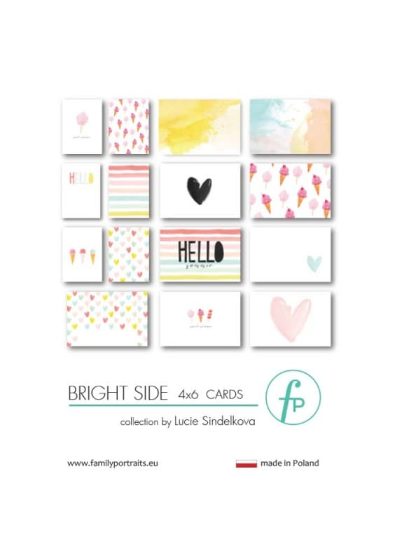 4X6 CARDS / BRIGHT SIDE