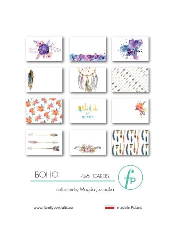 4X6 CARDS / BOHO