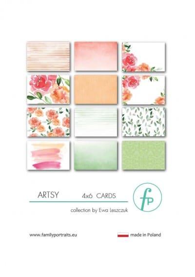 4X6 CARDS / ARTSY
