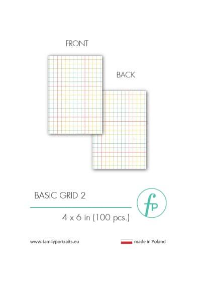 4X6 CARDS / BASICS - GRID 2 (100 sztuk)