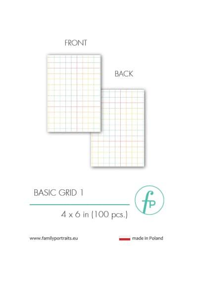 4X6 CARDS / BASICS - GRID 1 (100 sztuk)