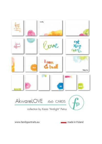 AkwareLOVE / 4X6 CARDS