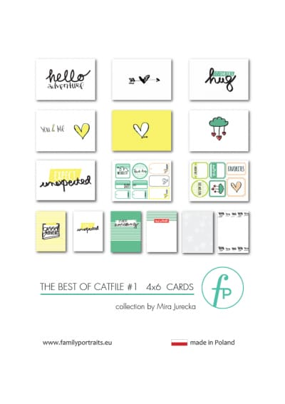 4X6 CARDS / THE BEST OF CAT FILE PART 1