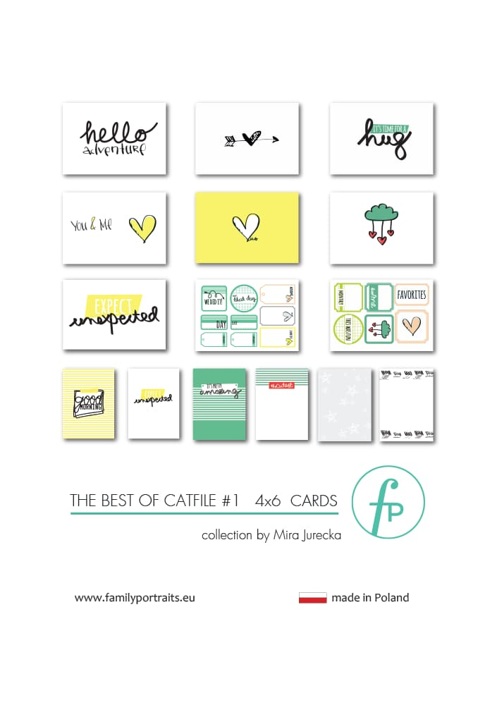 THE BEST OF CAT FILE PART 1 / 4X6 CARDS