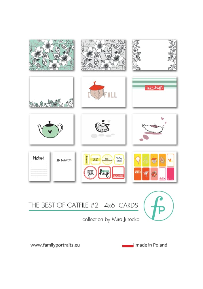 THE BEST OF CAT FILE PART 2 / 4X6 CARDS