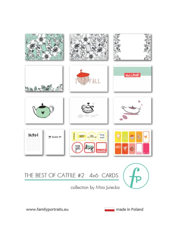 4X6 CARDS / THE BEST OF CAT FILE PART 2