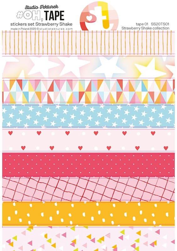 Strawberry Shake pharse stickers 03